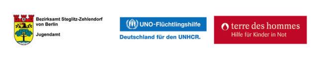 Logos_Jugendamt_UNHCR_tdh